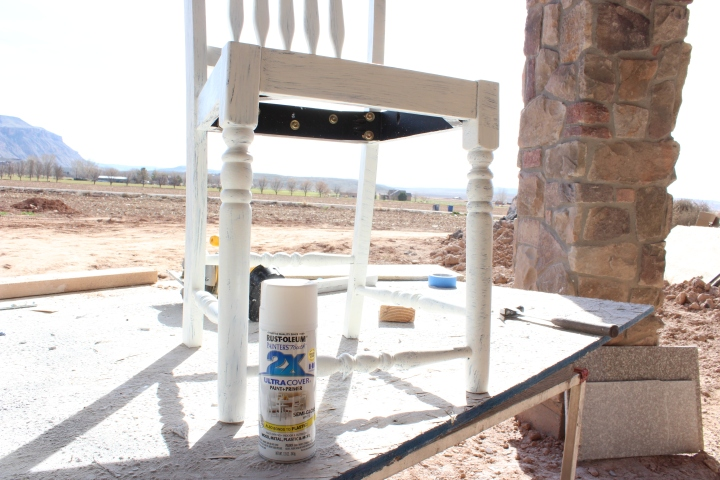 How to refinish kitchen chairs / kitchen chair makeover