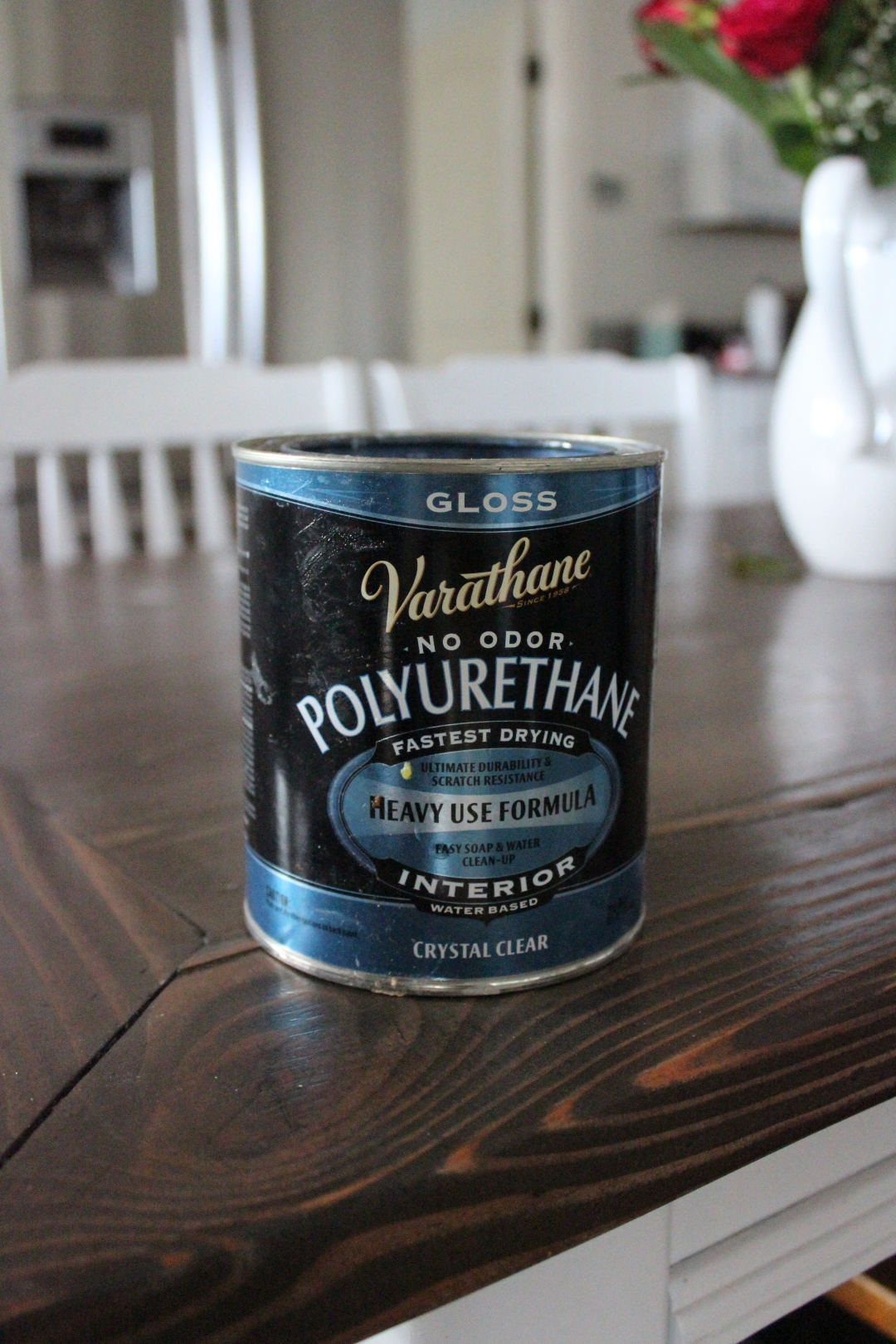 homemade chalk paint / how to make chalk paint