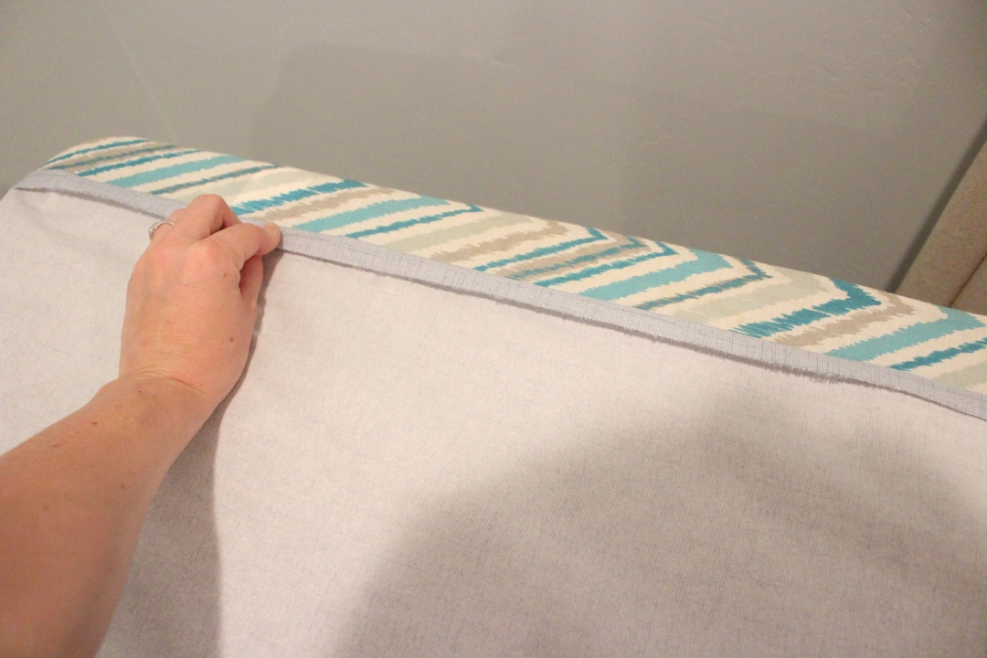 sew easy back tab curtains